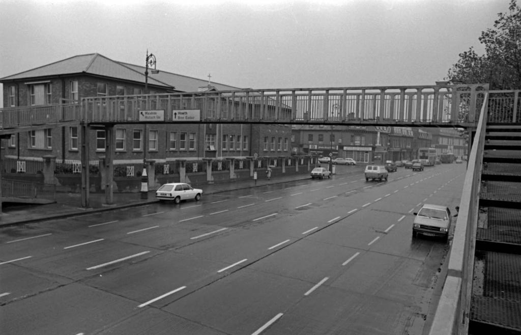 Fairview Footbridge in the 70's
